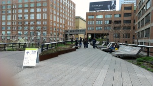 Part of the High Line