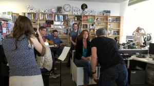 Hem performs a Tiny Desk Concert.