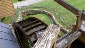 Picture of top of grist mill