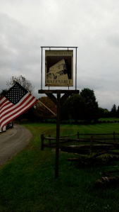 picture of Wade's Mill sign