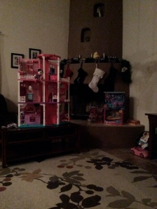 Waiting on the kids to wake up and open their presents.