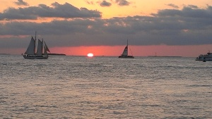 Sunset from Fort Zachary Taylor State Park