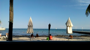 View from the Southernmost Point on the Beach Cafe