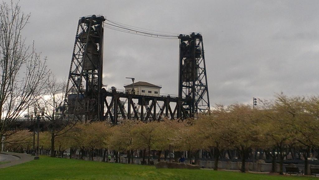 Photo of the Steel Bridge