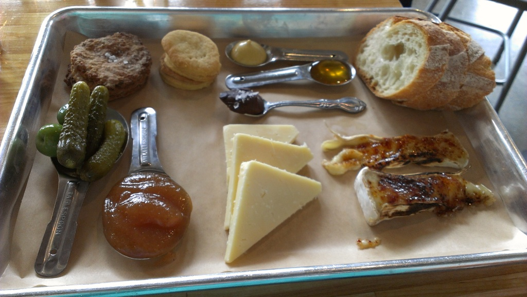 photo of a cheese plate