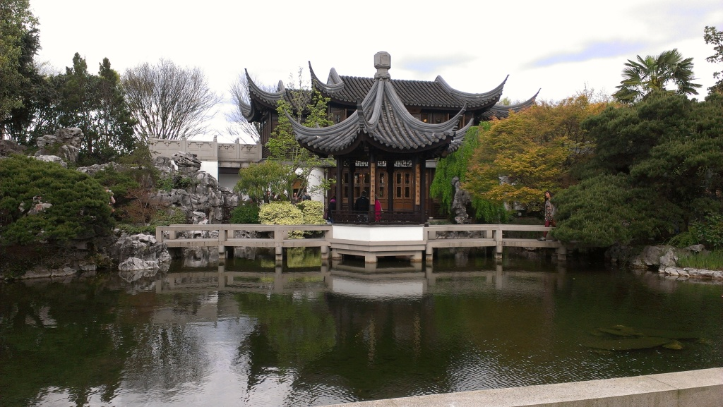 Chinese gardens in Portland
