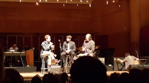 Taylor Goldsmith, Nicholas Hersh, and Alex Cortwright talking about Phillip Glass' Symphony No. 3