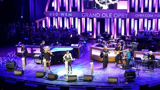 Pam Tillis at the Grand Ole Opry