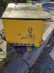 John Waters salt box art